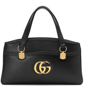 Gucci Large GG Leather Top Handle Bag